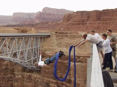 Amerika bungee jump Arizona Don Graham