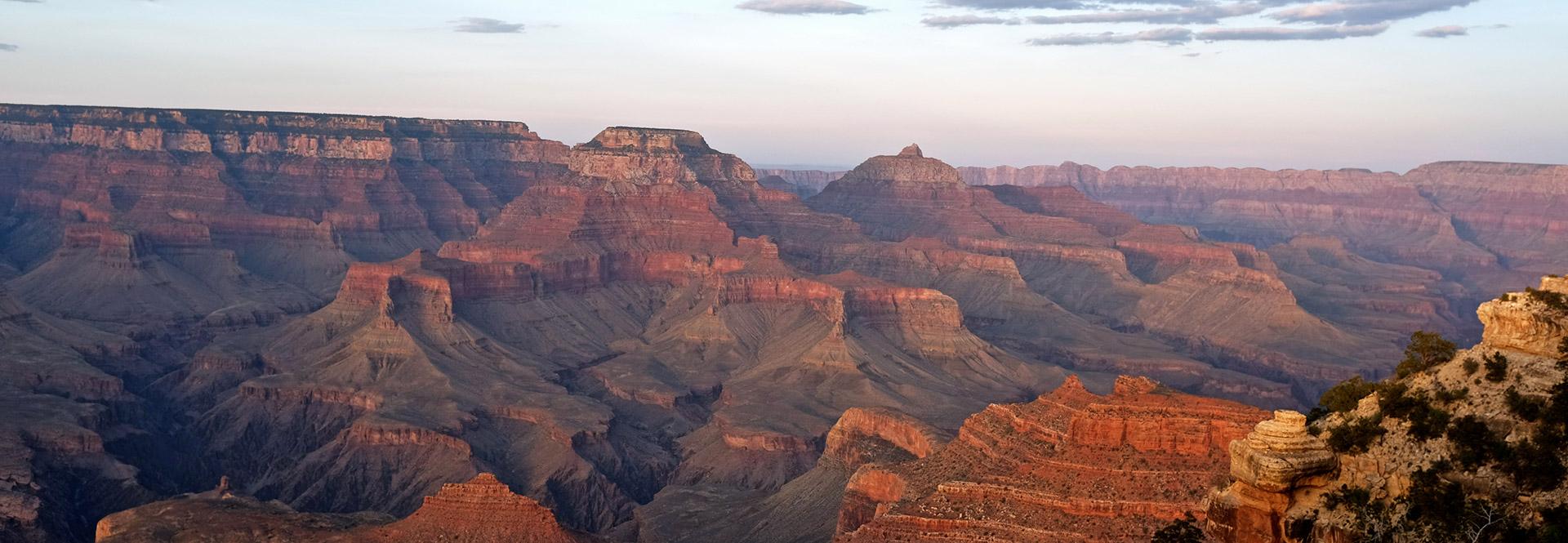 Gran Canyon Zonsondergang