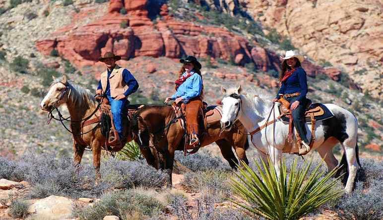 Nevada paardrijden