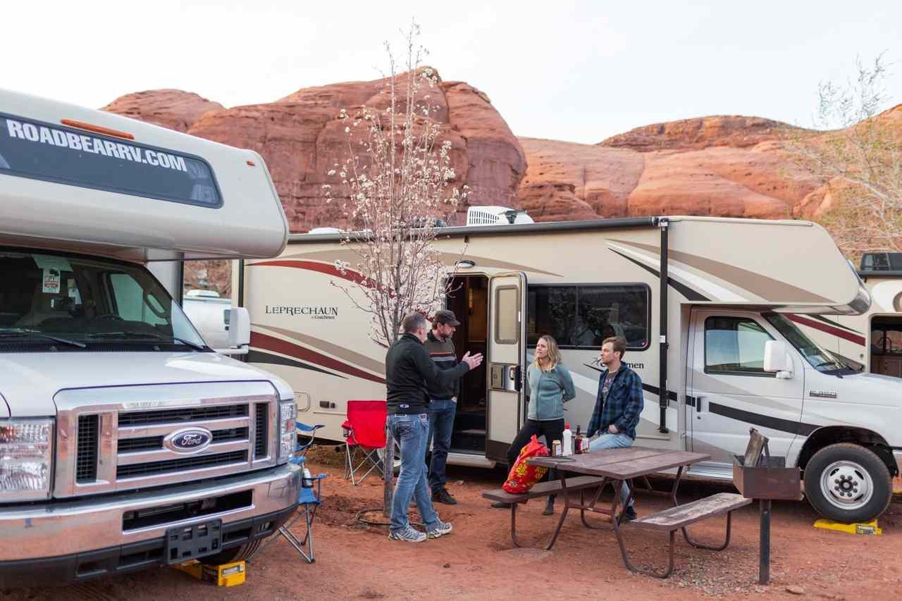Road Bear kamperen