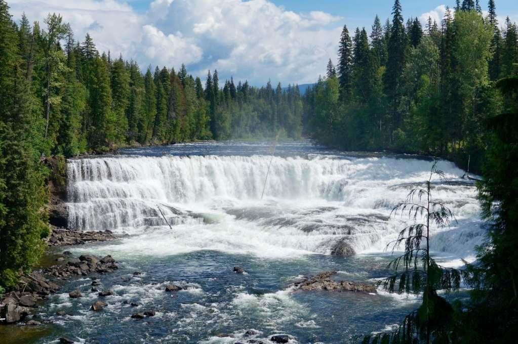 Wells Gray Dawson Falls