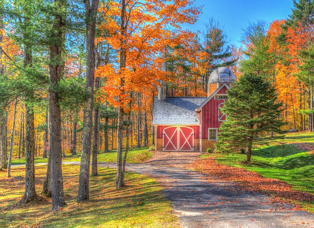 Vermont herfst